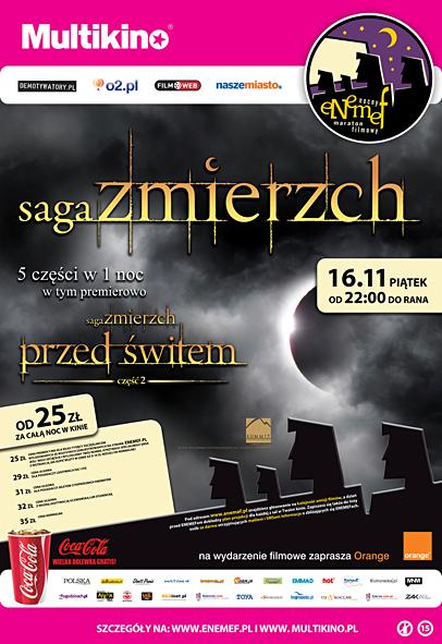 0842c2bea934e4 ENEMEF: Noc Zmierzchu to propozycja dla wszystkich fanów opowieści o  wampirach, w szczególności dla tych, którzy z niecierpliwością oczekują  premiery jej ...