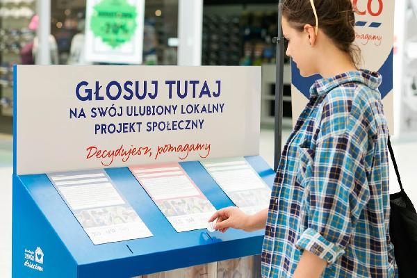 """Trwa głosowanie na najciekawsze inicjatywy społeczne w Rzeszowie.  IV edycji programu Tesco """"Decydujesz, pomagamy"""""""
