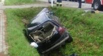 Wypadek w Trzcinicy. Trzy osoby ranne - Aktualności Podkarpacie