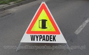 Zderzenie trzech samochodów w Trzebownisku. Wprowadzono ruch wahadłowy - Aktualności Rzeszów