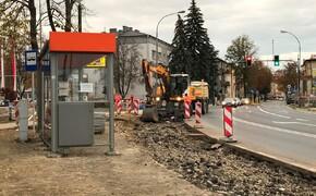 Ruszyła budowa prawoskrętu z ul. Słowackiego w ul. Szopena - Aktualności Rzeszów