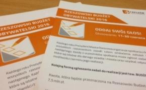 | 12 dni na głosowanie do Rzeszowskiego Budżetu Obywatelskiego. Pomożemy Ci wybrać projekt!