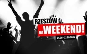 | Rzeszów na Weekend. Imprezowy rozkład jazdy