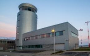 | Wieża kotroli lotów w Jasionce ukończona