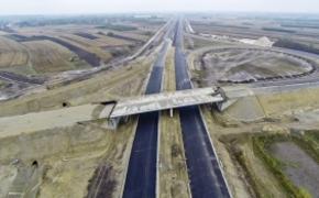 | Trwają prace przy budowie ponad 40 kilometrowego odcinka autostrady A4 Rzeszów-Jarosław