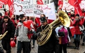 | Pełen radości i okrzyków marsz w centrum Rzeszowa w szlachetnym celu