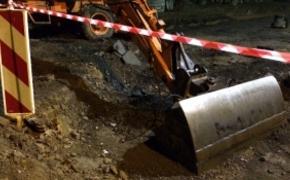 | Wybrano firm�, kt�ra zabezpieczy skarp� i odbuduje drog� przy ul. Le�nej