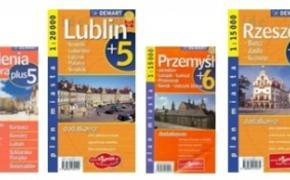 | Kilkaset nowych map i przewodników w Wypożyczalni Głównej rzeszowskiej biblioteki