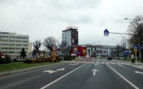 | Iluminacja zieleni przy ul. Cieplińskiego
