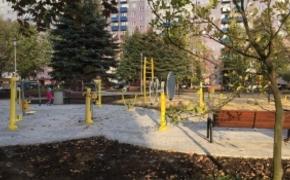| FOTO. Przy ul. Popiełuszki powstał park aktywności dla seniorów. W piątek uroczyste otwarcie