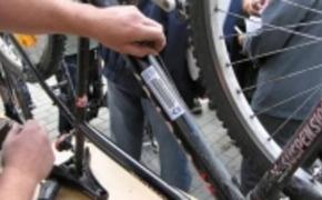 | Akcja znakowania rower�w w Rzeszowie