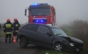 | �miertelny wypadek na trasie Szczutk�w - Opaka