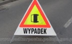 | Dachowanie w Sobiecinie. Pasażer zmarł w szpitalu