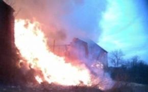 | Pożar budynku gospodarczego w Lipie