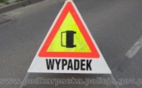 | Dwa tiry zderzyły się w Bukowej