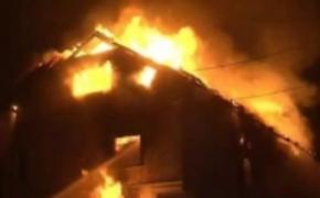   Tragiczny pożar w Rudzie Różanieckiej. 2 osoby nie żyją