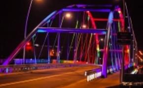 | FOTO: Iluminacja Mostu Narutowicza