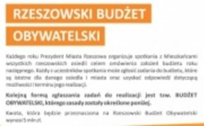   Rzeszowski Budżet Obywatelski 2014. Trwa głosowanie