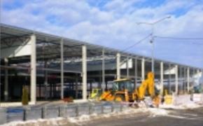 | Postępuje budowa Hali Lwowskiej