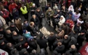 | Protest na znak solidarności z Ukrainą