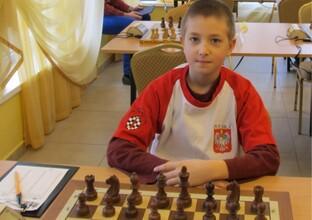 12-letni rzeszowianin reprezentantem Polski w mistrzostwach szachowych