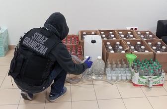 BOSG zlikwidował nielegalną rozlewnie alkoholu