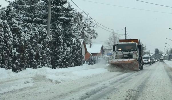 IMGW Ostrzega! Intensywne opady śniegu na Podkarpaciu  - Aktualności Podkarpacie