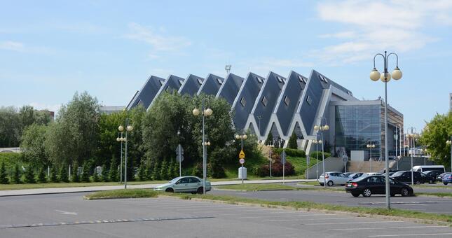 Parking wielopoziomowy przy hali Podpromie będzie czteropoziomowy z wyjazdem na most - Aktualności Rzeszów