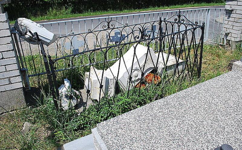 Chuligani zdewastowali cmentarz w Rudnej Wielkiej - Aktualności Rzeszów - zdj. 1