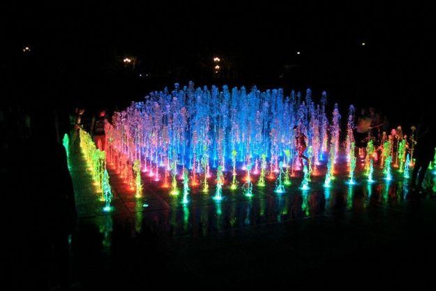 Aktualności Rzeszów | Pierwszy w sezonie pokaz multimedialnej fontanny