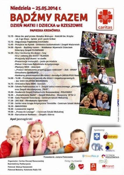 Aktualności Rzeszów | Uczcij Dzień Matki na rzeszowskim Rynku