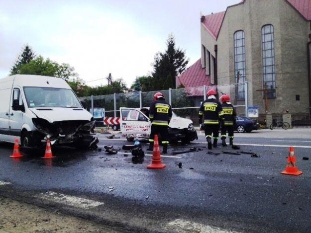 Aktualności Rzeszów | (FOTO) Wypadek na ul. Lwowskiej