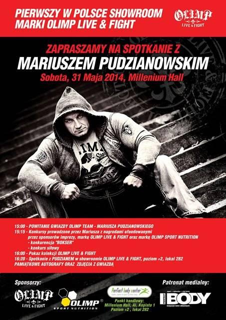 Aktualności Rzeszów | Pudzian spotka się z fanami
