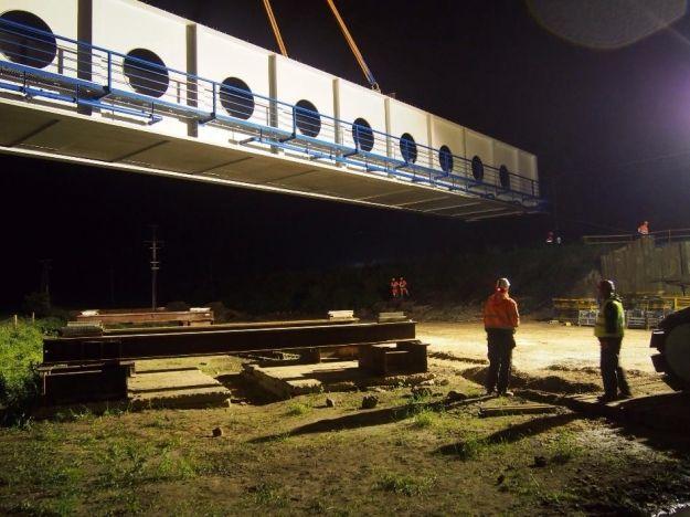 Aktualności Podkarpacie | (FOTO) Nocne posadowienie kolosa pod Rzeszowem