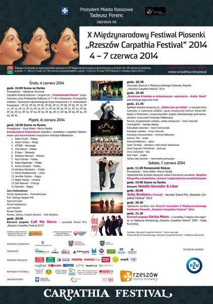Aktualności Rzeszów | Od dziś Carpathia Festival 2014!