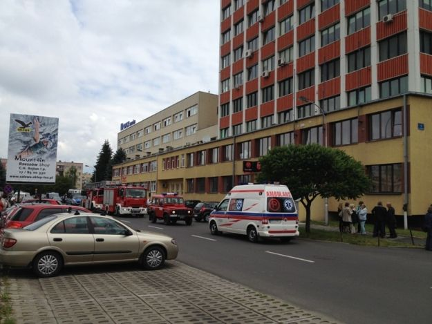 Aktualności Rzeszów | (FOTO) Alarm bombowy przy Geodetów