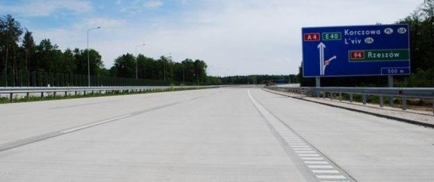 Aktualności Podkarpacie | Węzeł Korczowa na autostradzie A4 oddany do ruchu