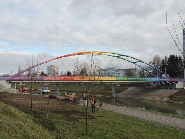 Aktualności Rzeszów | Trwają prace w okolicy mostu Narutowicza