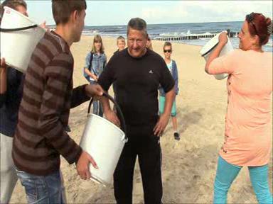 Aktualności Podkarpacie | VIDEO. Ice bucket challenge. Szef podkarpackiej policji przyjął wyzwanie