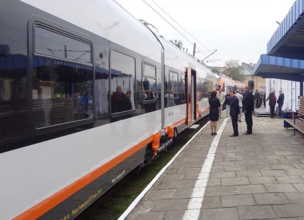 Aktualności Podkarpacie | Nowoczesny pociąg na podkarpackich trasach