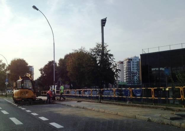 Aktualności Rzeszów | (FOTO) Zablokowany pas ruchu na Powstańców Warszawy