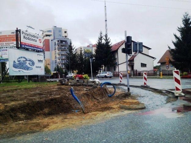 Aktualności Rzeszów | Roboty drogowe przy ul. Kwiatkowskiego