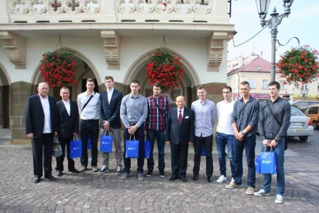 Aktualności Rzeszów | Mistrzowie Świata odwiedzili ratusz
