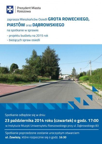 Aktualności Rzeszów | Spotkanie z prezydentem