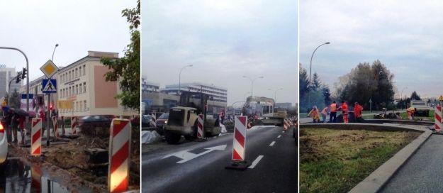 Aktualności Rzeszów | Uwaga kierowcy! Gigantyczne utrudnienia drogowe!