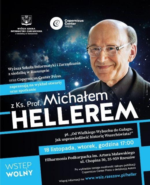 Aktualności Rzeszów | Ks. prof. M. Heller ponownie wygłosi wykład w Rzeszowie