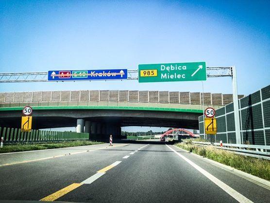 Aktualności Rzeszów | Od dziś A4 prosto do Krakowa!