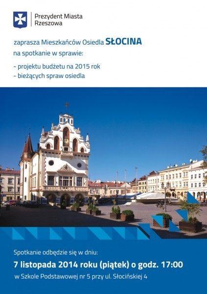 Aktualności Rzeszów | Prezydent odwiedzi kolejne osiedle