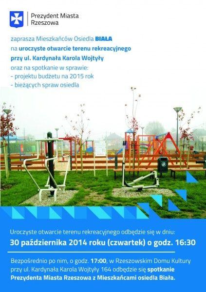 Aktualności Rzeszów | Spotkanie prezydenta z mieszkańcami. Gdzie?
