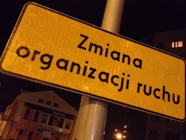Aktualności Rzeszów | Zamknięty chodnik przy ulicy Lisa Kuli